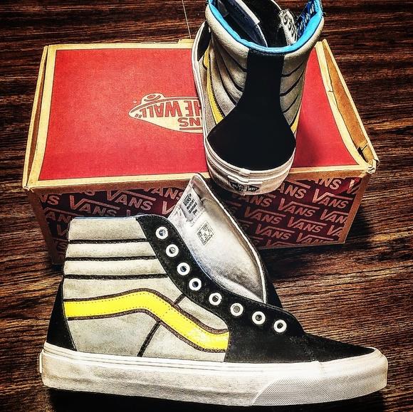 f496fc1fca6b3 Custom Vans Sk8-Hi sneakers Batman theme mens sz 9 NWT